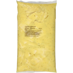 QUALITY CHEF Dumplings & Chicken Broth, 8 lb. Frozen Bag (Pack of 4) image