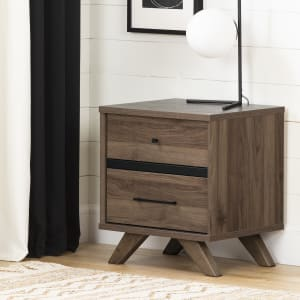 Flam - 2-Drawer Nightstand