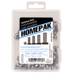 HOMEPAK PHP Stainless Steel Machine Screws Assortment