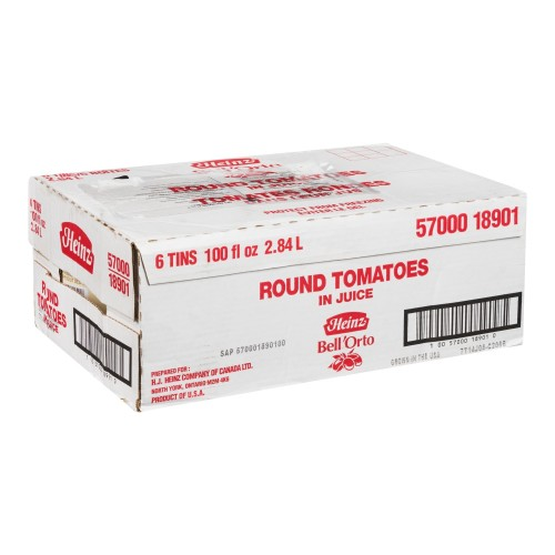 BELL'ORTO Whole Peeled Tomato 2.84L 6