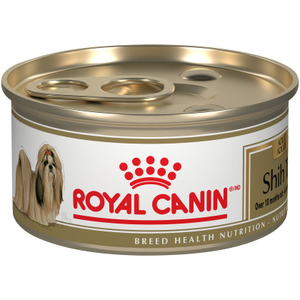 Royal Canin Breed Health Nutrition Shih Tzu Loaf In Sauce Dog Food