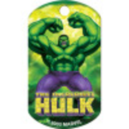 Hulk Chrome Large Military ID Quick-Tag 25 Pack