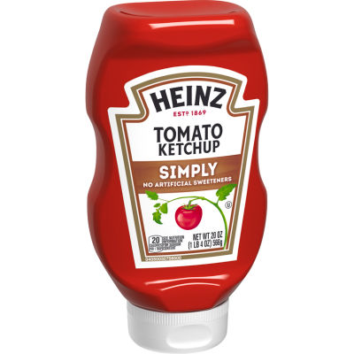 Heinz Simply Heinz Tomato Ketchup 20 oz Bottle