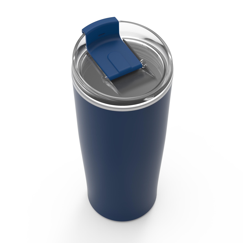 Aberdeen 20 ounce Vacuum Insulated Stainless Steel Tumbler, Indigo slideshow image 3