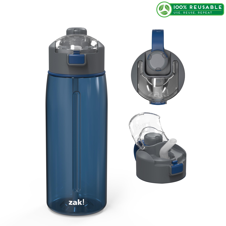 Genesis 32 ounce Water Bottle, Indigo slideshow image 1
