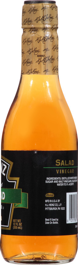 Heinz Gourmet Salad Vinegar, 12 fl oz Bottle
