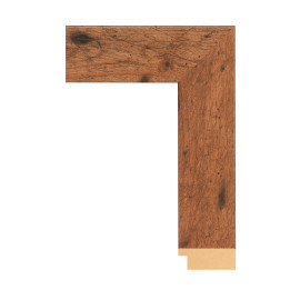 Framerica Light Walnut Rustic Pine 1 3/4