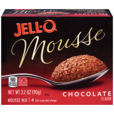Jell-O Chocolate Mousse Instant Pudding 3.2 oz Box