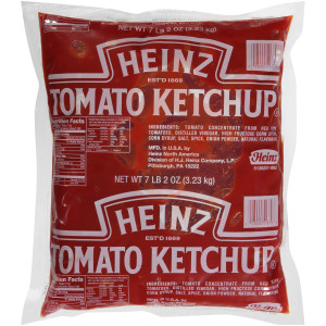 HEINZ Ketchup, 114 oz. Pouches (Pack of 6) image