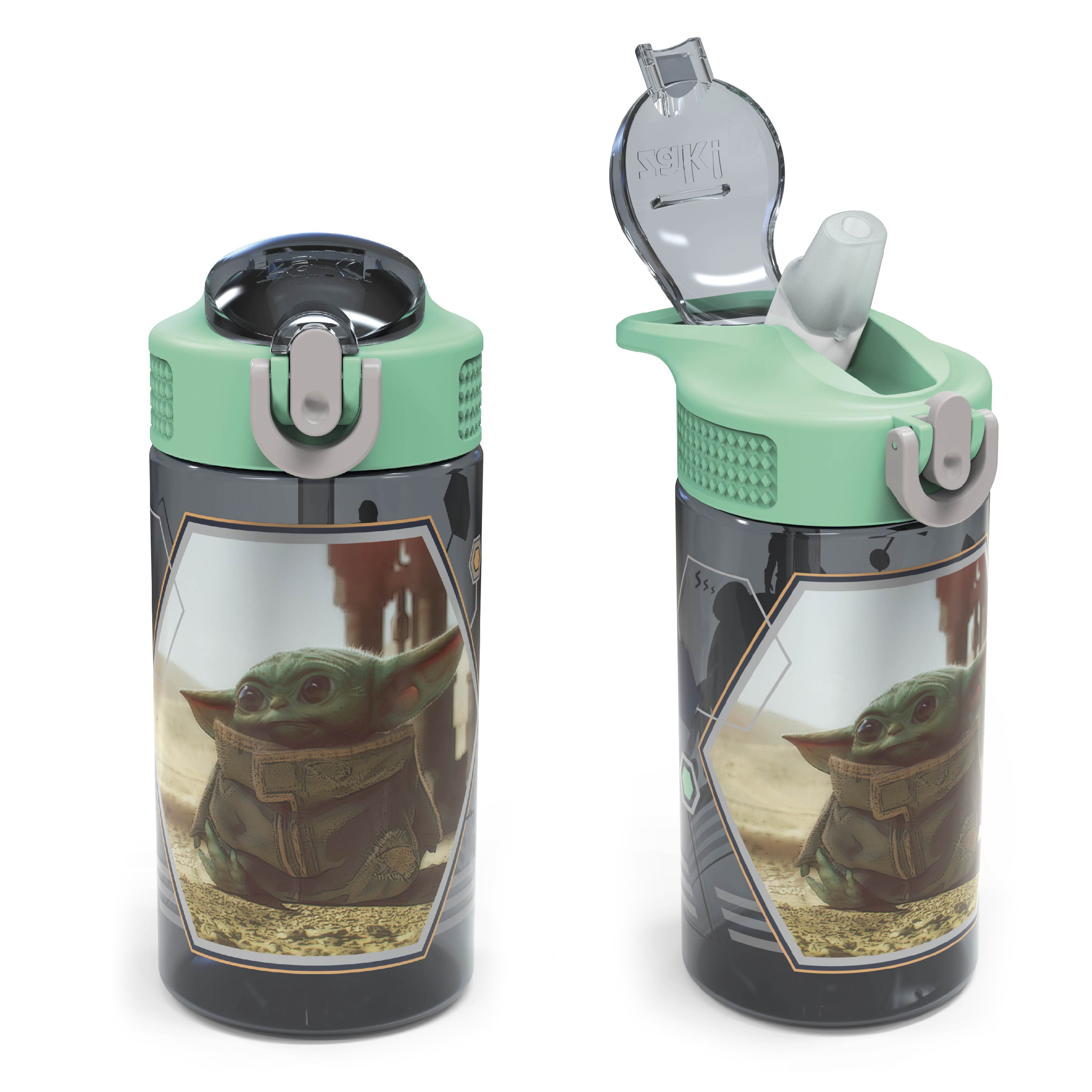 Star Wars: The Mandalorian 16 ounce Water Bottle, The Child slideshow image 8