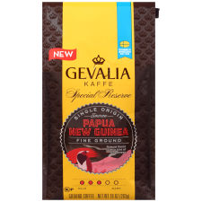 Gevalia Special Reserve Papua New Guinea Fine Ground Coffee, 10 oz Bag