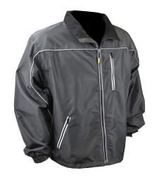 DEWALT® Men's Heated Lightweight Shell Jacket Bare Black
