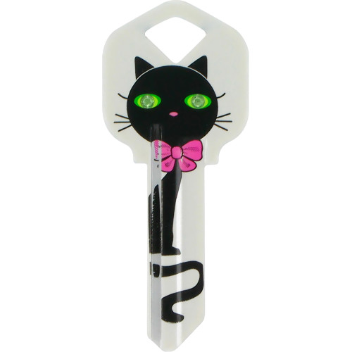 Black Cat Key Blank Kwikset/66 KW1
