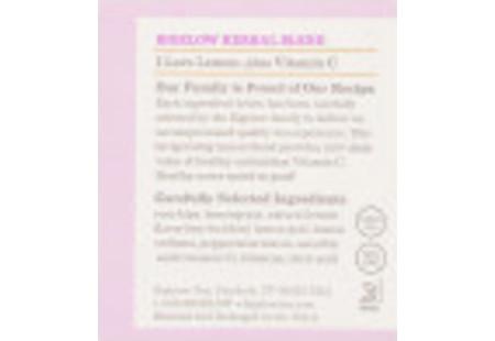 Ingredient Panel of I  Love Lemon Herbal Tea Plus Vitamin C box