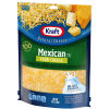Kraft Shredded Mexican Style Four Cheese 8 oz Pouch