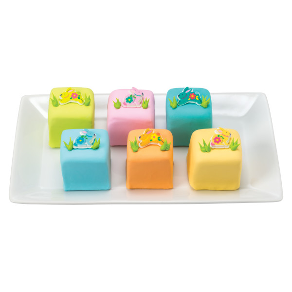 Bunny Assortment SugarSoft® Printed Edible Decorations
