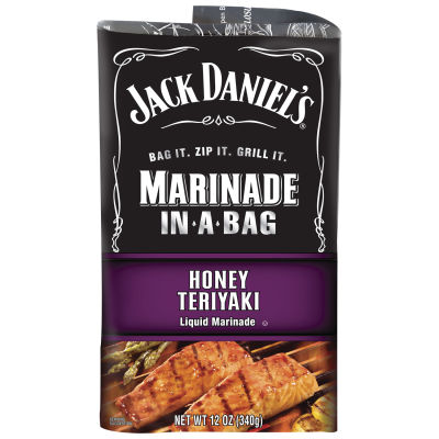 Jack Daniel's Honey Teriyaki Marinade In-A-Bag 12 oz Pouch