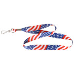 USA Flag Lanyard