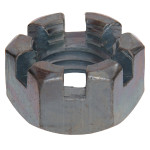 USS Coarse Hex Slotted Nuts