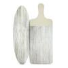 Island Drift Cheeseboard and Platter, Gray, 2-piece set slideshow image 2