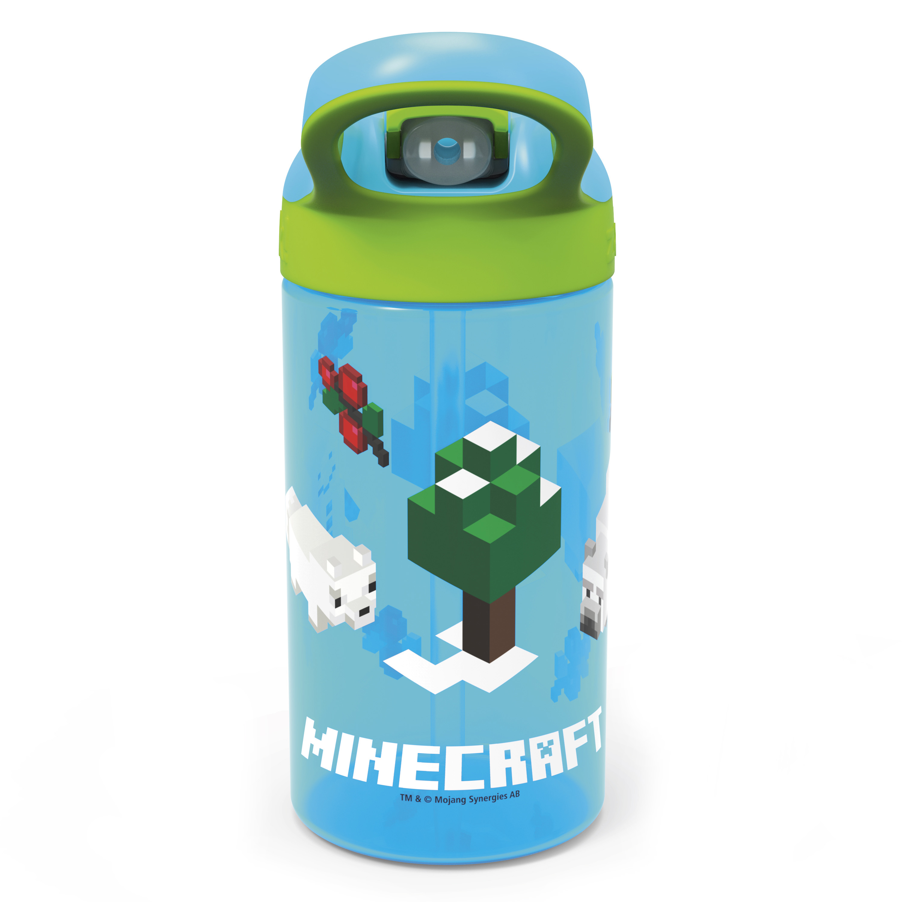 Minecraft 16 ounce Water Bottle, Assorted Minecraft Characters slideshow image 5
