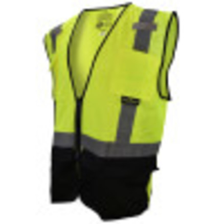 Radians Black Bottom Self-Extinguishing Surveyor's Vest