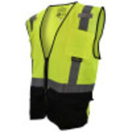 Radians Black Bottom Self-Extinguishing Surveyor's Vest