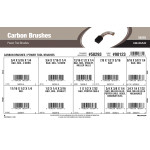 Carbon Brushes Assortment (For B&D, SKIL, Van Dorn, Stanley, Miller Falls, Porter Cable, Milwaukee Power Tools)