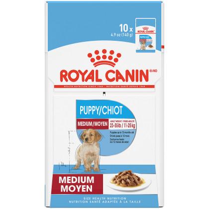 Medium Puppy Pouch Dog Food
