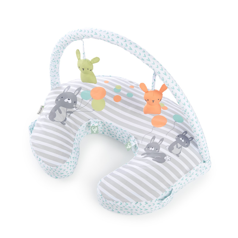 Plenti+™ Nursing Pillow + Toy Bar - Hop Art™