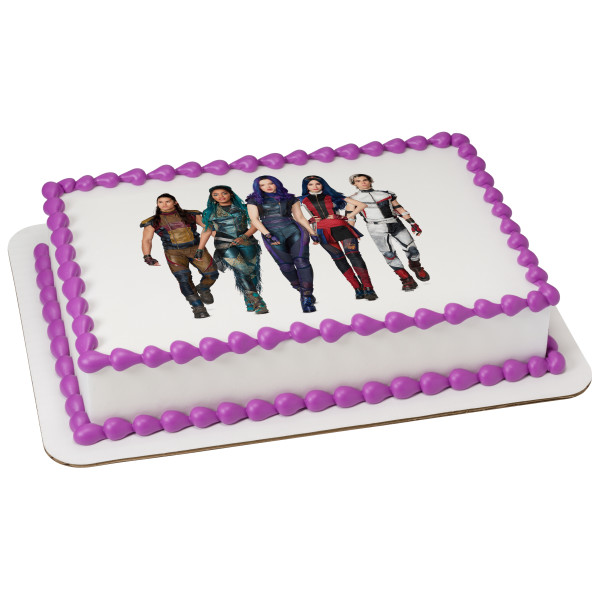 Descendants 3 VK Squad PhotoCake® Edible Image®