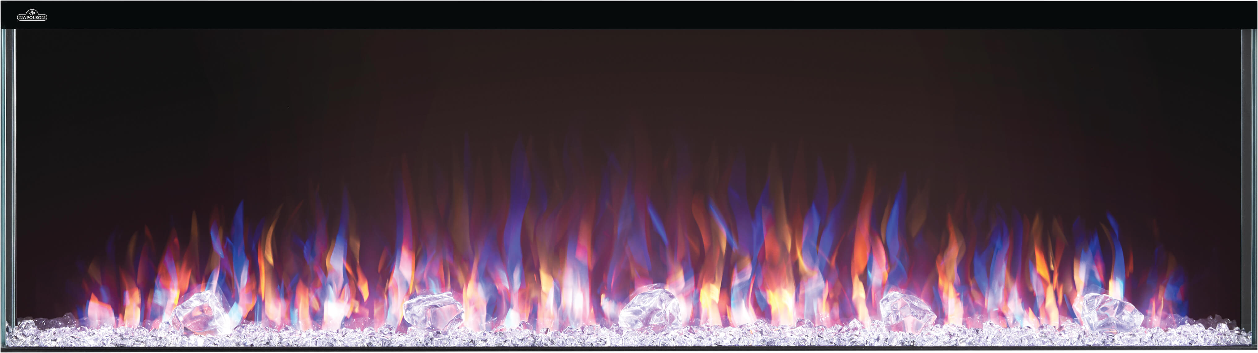 Click to view Trivista™ 60 Built-in Electric Fireplace