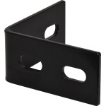 Hardware Essentials Black Heavy Duty Corner Braces