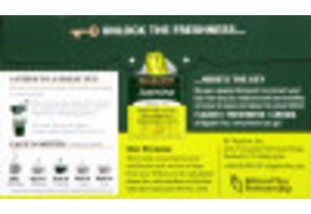 Back of Jasmine Green Tea box