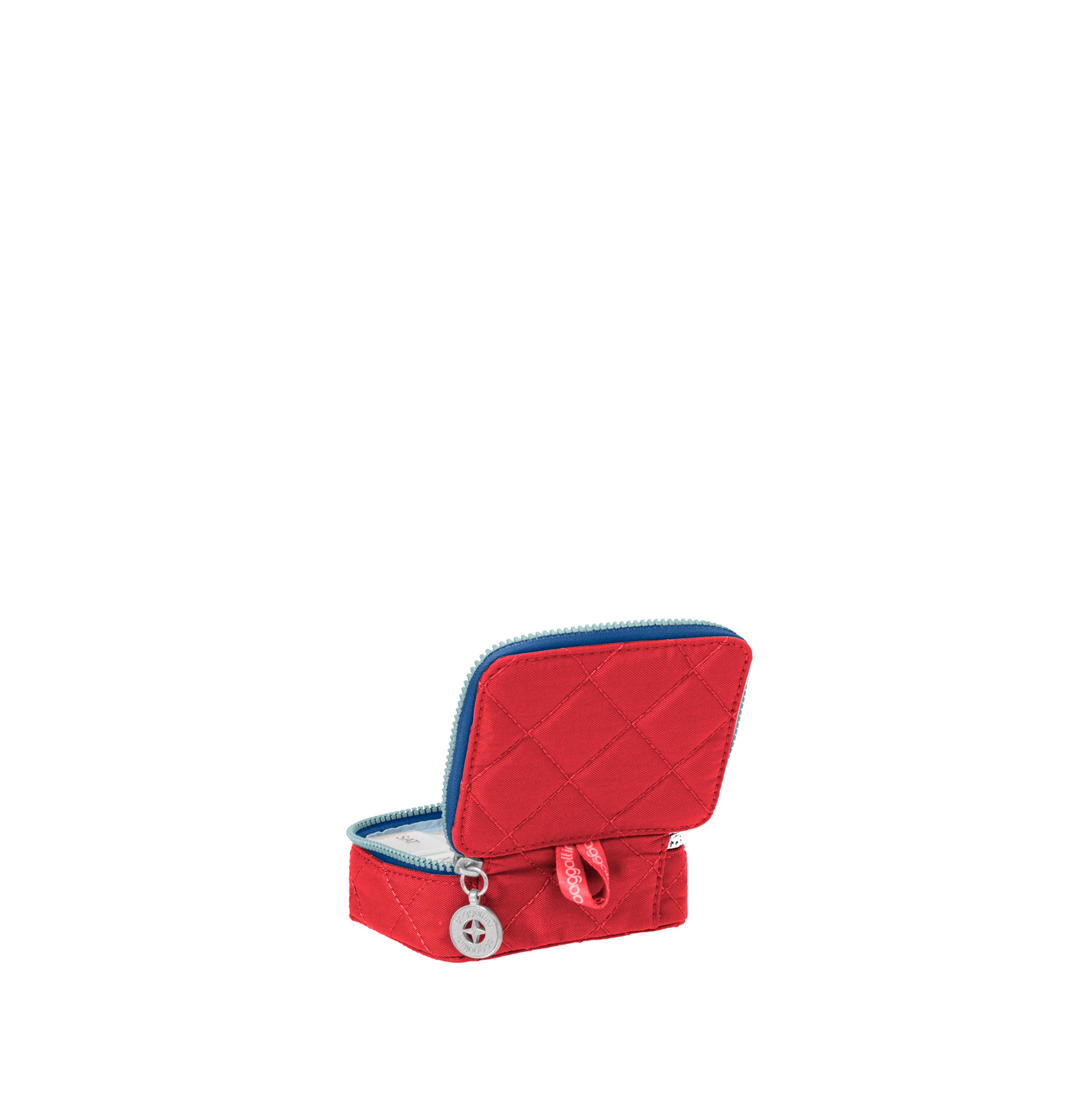 baggallini-Women-039-s-TSA-Friendly-Travel-Pill-Case-Nylon-Multiple-Colors thumbnail 8