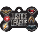Justice League Large Bone Quick-Tag