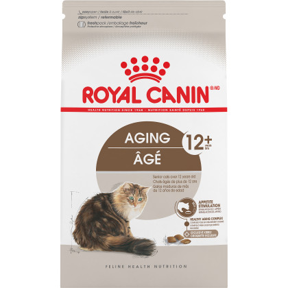 Royal Canin Feline Health Nutrition Aging 12+ Dry Adult Cat Food