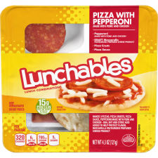 Oscar Mayer Lunchables Pepperoni Pizza 4.3 oz Tray