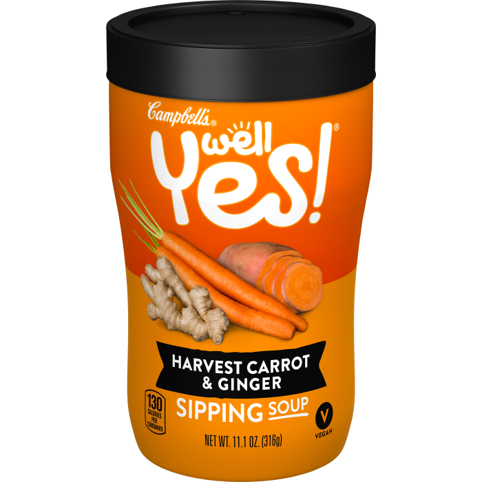 Harvest Carrot & GingerSipping Soup