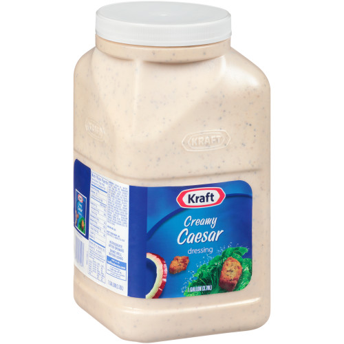 KRAFT Creamy Caesar Salad Dressing, 1 gal. Jugs (Pack of 4)