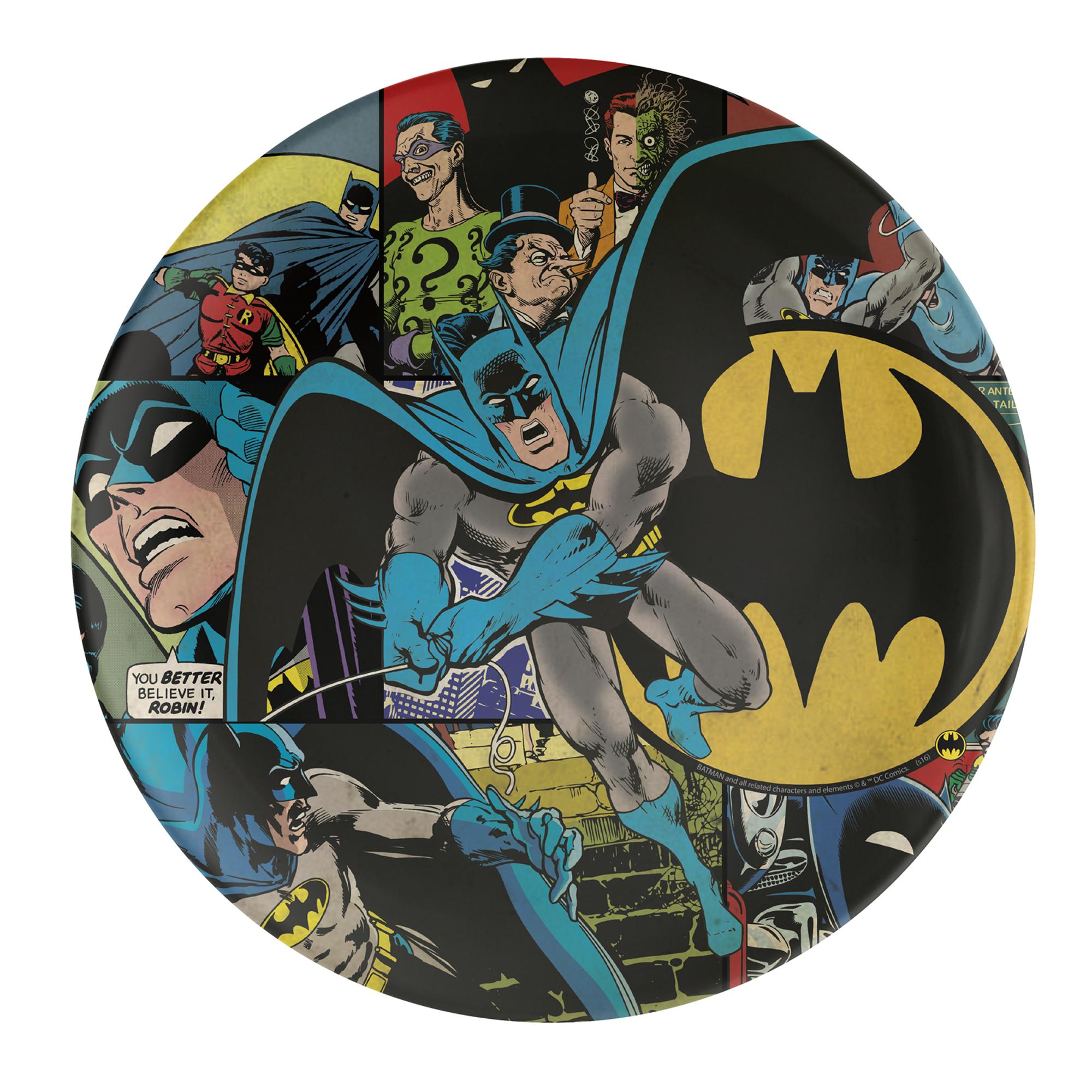 DC Comics Kids Plate, Batman slideshow image 1