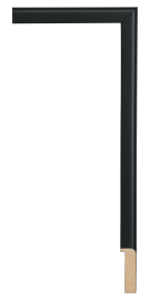 Black Reflections Shadow Box Black 7/8