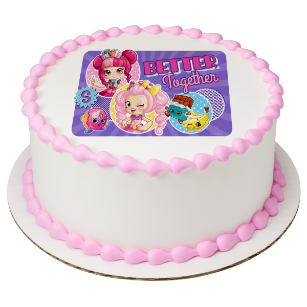 Shopkins™ Better Together PhotoCake® Edible Image®