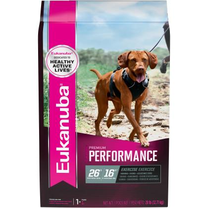 Eukanuba Premium Premium Performance Exercise 26/16 Adult Dry Dog Food