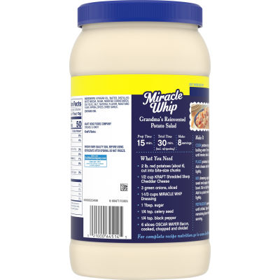 Miracle Whip Original Dressing 48 fl oz Jar