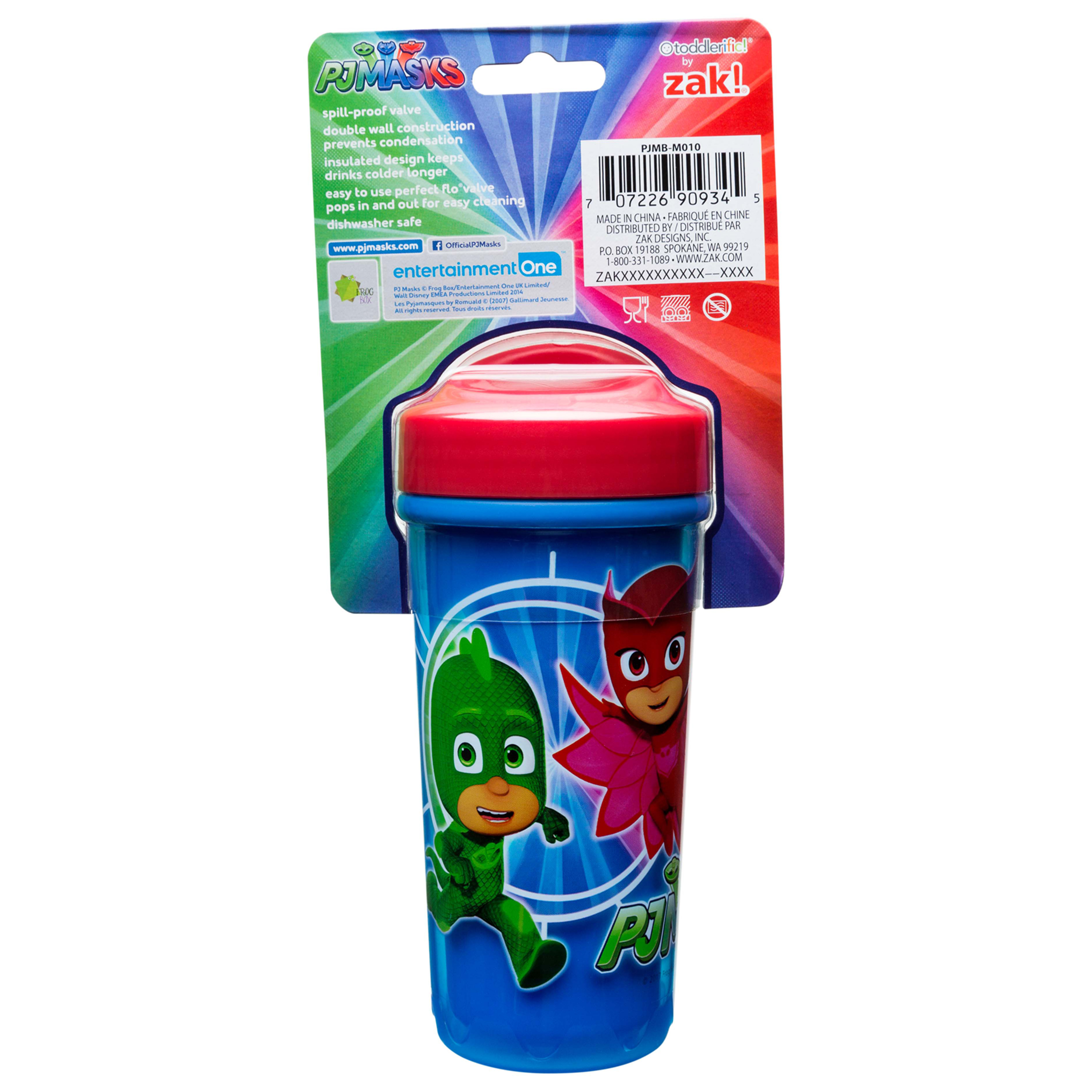 PJ Masks 8.7 ounce Sippy Cup, Catboy, Owlette & Gekko, 2-piece set slideshow image 4