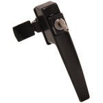 Hardware Essentials Keyed Pushbutton Latch Without Tie Downs