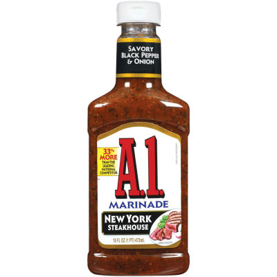 A.1. New York Steakhouse Marinade 16 fl oz Squeeze Bottle