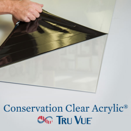 Tru Vue Conservation Clear Acrylic 48