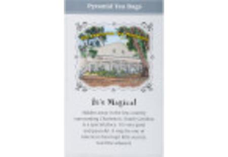 Back of Charleston Tea Earl Grey box